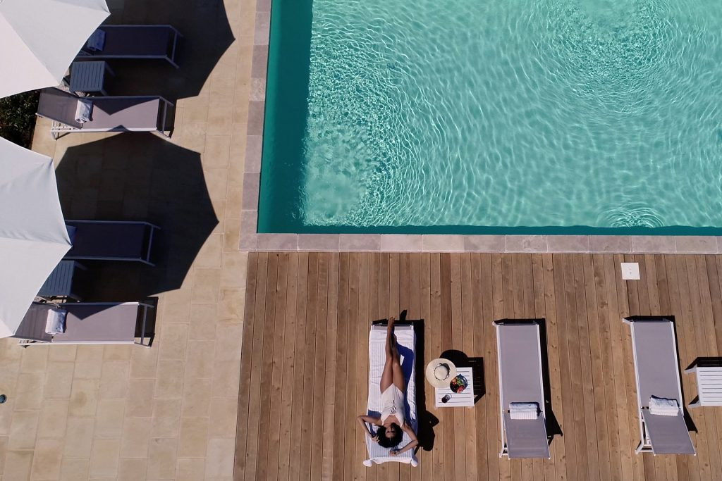 Country hotel con piscina